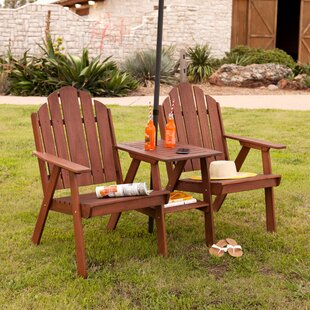 Wildon Home ® Harper Solid Wood Adirondack Chair