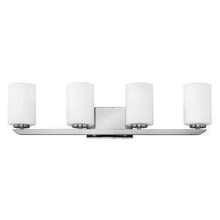 Read Reviews Kyra 4-Light Vanity Light By Hinkley Lighting
