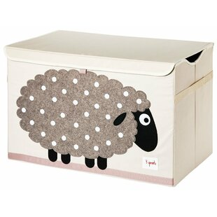 Great Price Sheep Toy Chest By 3 Sprouts