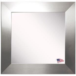 Wade Logan Wide Square Wall Mirror