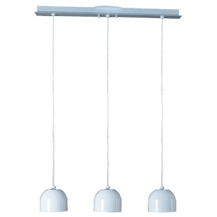 ET2 Brahma 3 Light Kitchen Island Pendant