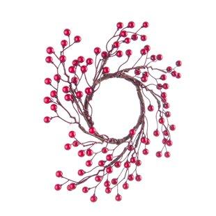 Tweggy 26cm Berry Wreath (Set Of 6) Image
