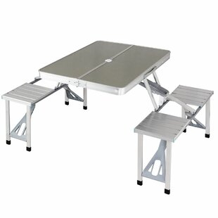 Scruggs Portable Folding Picnic Table Set  sc 1 st  Wayfair & Folding Picnic Tables Youu0027ll Love | Wayfair