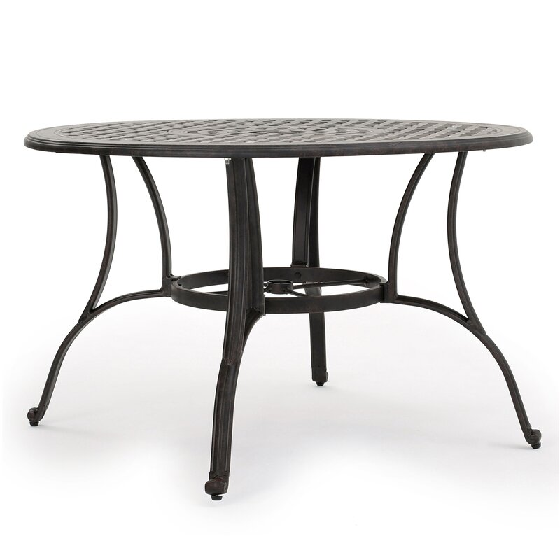 darby home co maytown circular dining table & reviews | wayfair Circular Dining Table