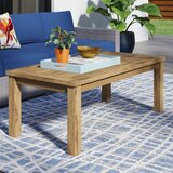 Elaina Solid Wood Coffee Table