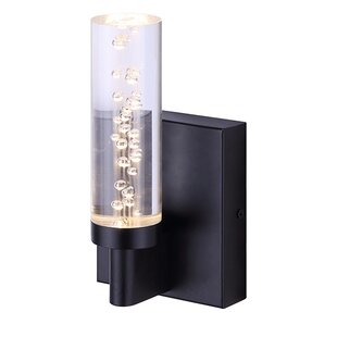 Orren Ellis Bobker 1-Light Bath Sconce