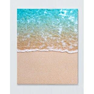 Beach Motif Magnetic Wall Mounted Cork Board By Ebern Designs