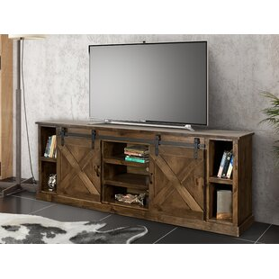 Look for Pullman TV Stand for TVs up to 85 by Loon Peak Reviews (2019) & Buyer's Guide