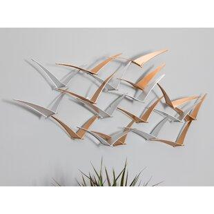 Metal Birds Wall Décor