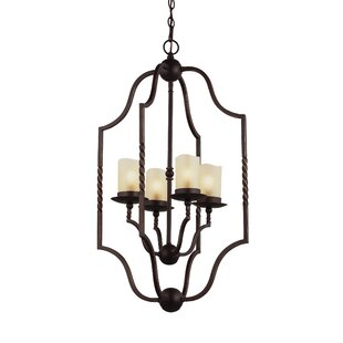 Darby Home Co Bungalow 4-Light Foyer Pendant