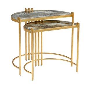Rockefeller 2 Piece Nesting Tables