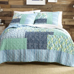 Native Springs 100% Cotton Reversible Quilt Set