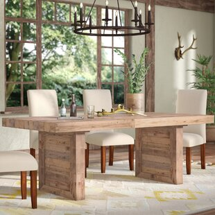 Quickview & Wood Block Dining Table | Wayfair