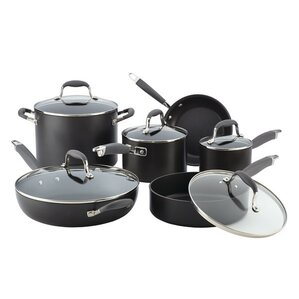 6-Piece Non-Stick Stainless Steel Cookware Set