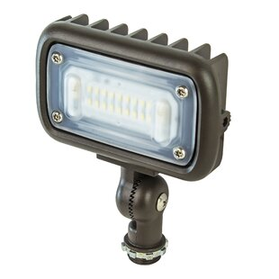 Best Reviews 15W Weatherproof Die Cast Aluminum 1 Light LED Flood Light By Newhouse Lighting