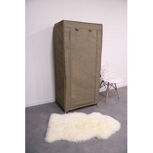 Christner 70cm Wide Portable Wardrobe (Set Of 2) By Rebrilliant