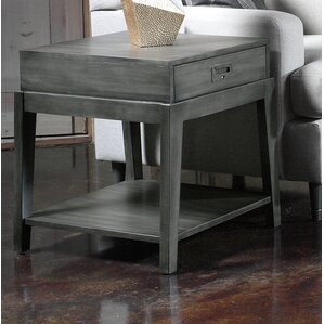 Courchevel End Table with Storage by French ..
