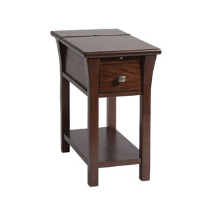 Fluker End Table with Storage by Darby Home Co