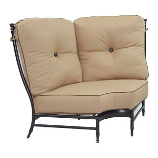 Leona Provence Corner Patio Chair with Cu..