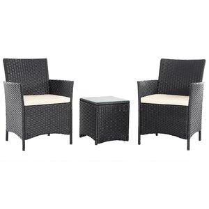 2-tlg. Sessel-Set mit Kissen von Aspect Design