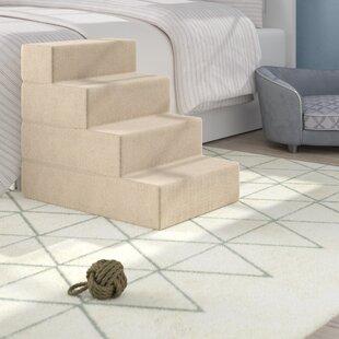Magnificent Dashiel 4 Step Pet Stair Dailytribune Chair Design For Home Dailytribuneorg