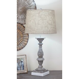 Polystone Marble 30 Table Lamp (Set of 2)