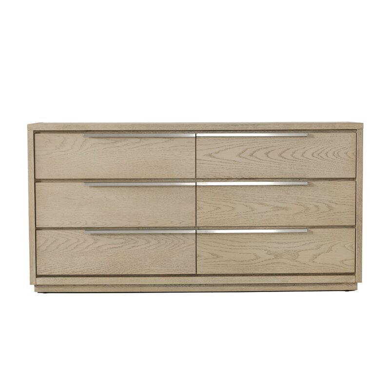 Foundry Select Gauvin 6 Drawer Double Dresser Wayfair