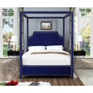 Emet Upholstered Canopy Bed