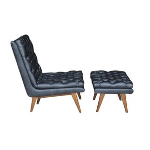 Corrigan Studio Amara Lounge Chair and Ottoman