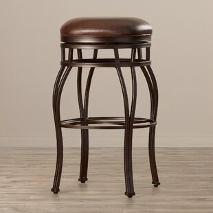 Gilman 30 Swivel Bar Stool by DarHome Co 2019 Salet