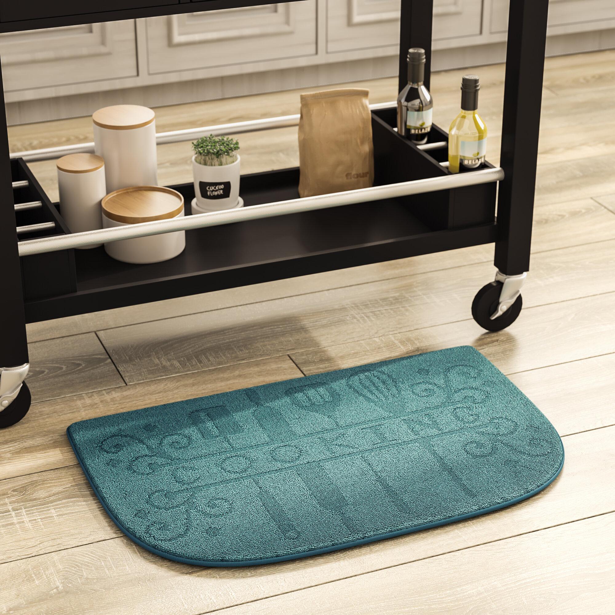 2 Pcs = 21/'/' x 42/'/' Kitchen Mat Cushion Comfort Chefs Foam Anti-Fatigue .