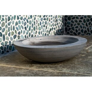 Akeem Rainbow Sandstone Birdbath By Sol 72 Outdoor