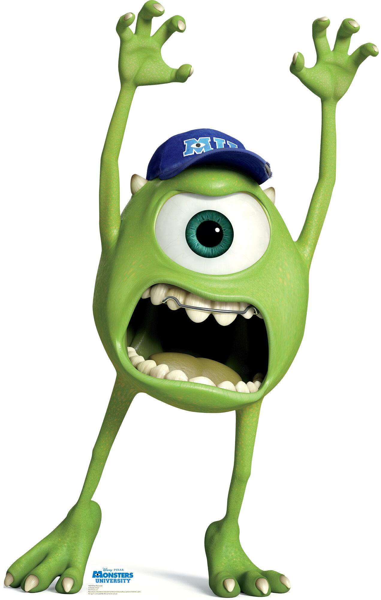 Advanced Graphics Mike Wazowski Disney Pixar Monsters University Cardboard Stand Up Wasowski Wayfair