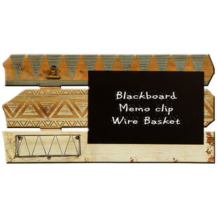 Ethnic Wall Mounted Chalkboard By World Menagerie