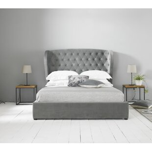 Fuller Upholstered Bed Frame By Rosalind Wheeler