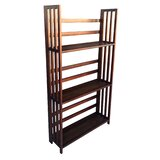 Solid Wood Etagere Bookcase by D-Art Collection