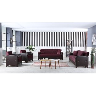 Featherstone 4 Piece Living Room Set by Ivy Bronx