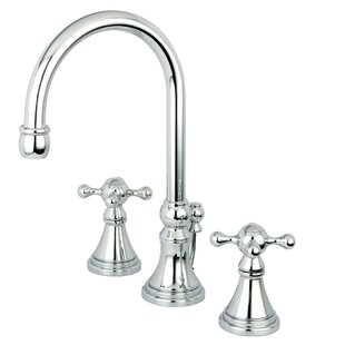 Madison Widespread Bathroom Faucet with Double Cross Handles By Elements of Design