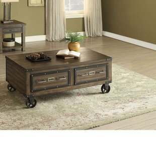 Croy Coffee Table with Tray Top