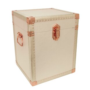 Seward Trunk Broadway End Table with Storage