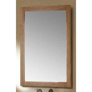 Brown Wall Mirror oak mirrors you'll love | wayfair
