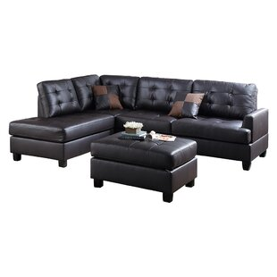Shop For Giuliana Sectional with Ottoman by Winston Porter Reviews (2019) & Buyer's Guide