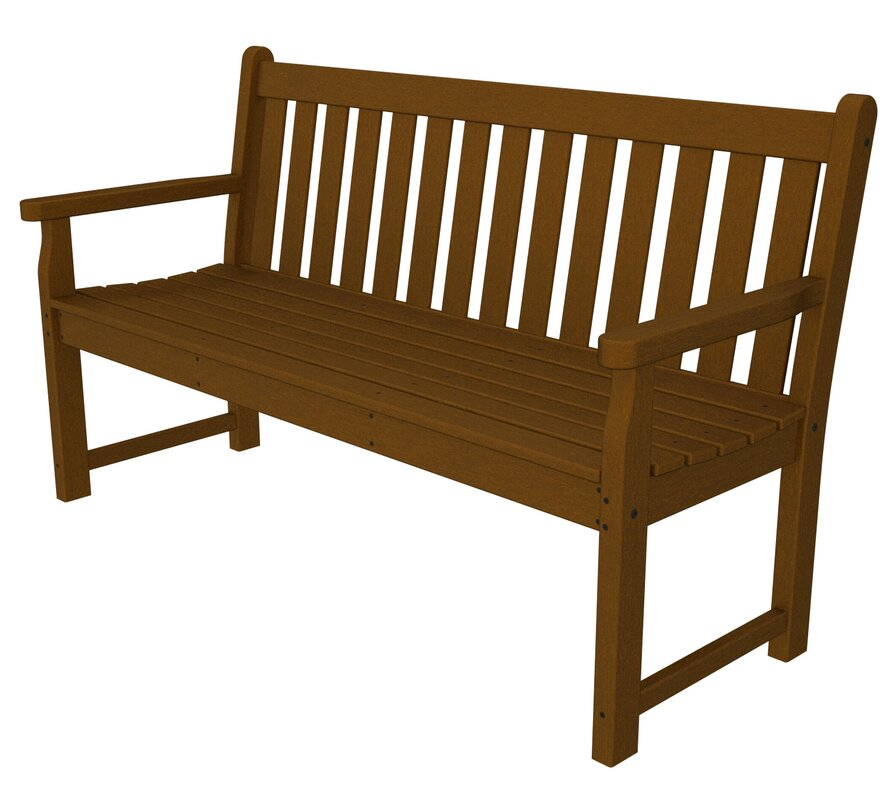Garden Furniture Bench polywood® traditional garden bench & reviews   wayfair