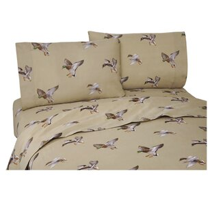 Romer Duck Approach 200 Thread Count Percale Sheet Set
