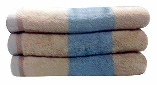 Charlton Home Moro Block Bath Towel  Color: Brown