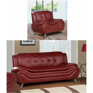 Machelle 2 Piece Living Room S..