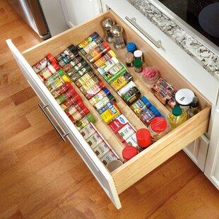 In drawer spice rack wayfair 238h x 1975d drawer organizer workwithnaturefo