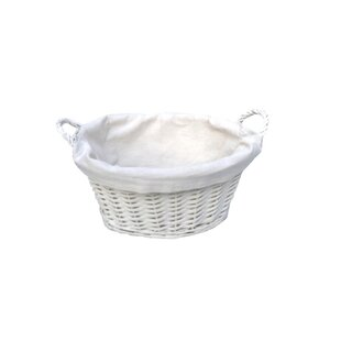 Wicker Laundry Basket By Brambly Cottage