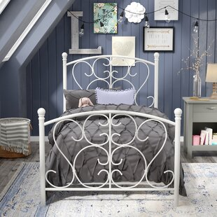 Kimberley Twin Panel Bed by Viv + Rae