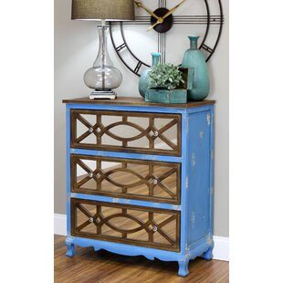 Great deal Lara French Country 3 Drawer Chest By Aspire
